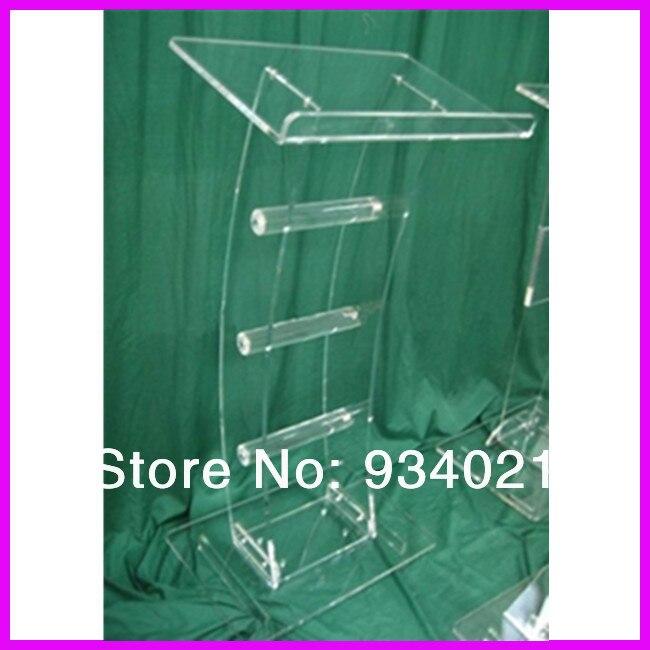 Acrylic Tabletop Lectern/Plexiglass Podiums Church Pulpit