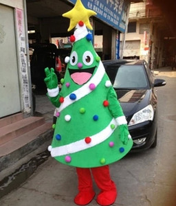 Image 2 - Christmas Tree Mascot costume Birthday Party Dress Halloween adult mascot costume mascotte costume hot sale