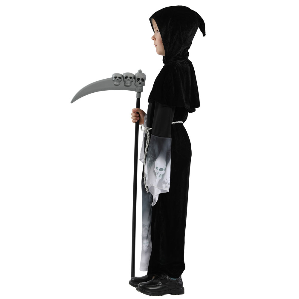 Boys Grim Reaper Halloween Costume 3