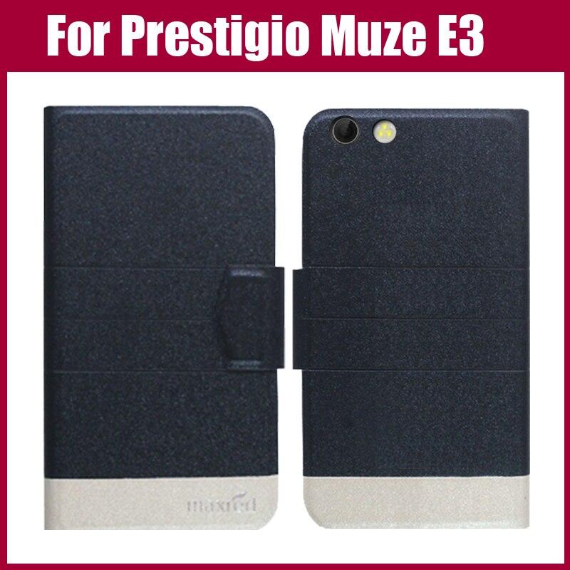 Pouzdro Prestigio Muze E3 Nový příjezd 5 barev Módní Flip Ultra tenký kožený ochranný obal pro Pouzdro Prestigio Muze E3