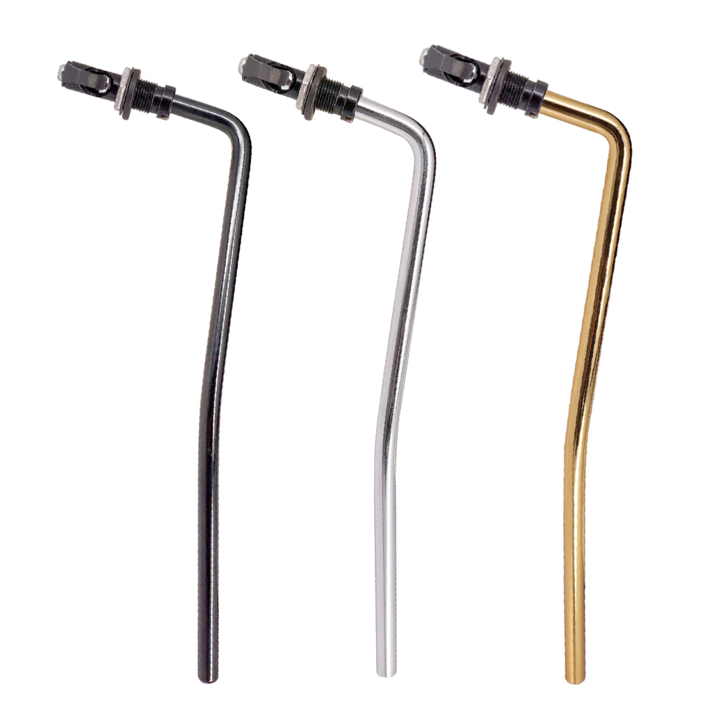 2 Pieces Direct Electric Guitar 6mm Tremolo Arm Whammy Bar with Socket