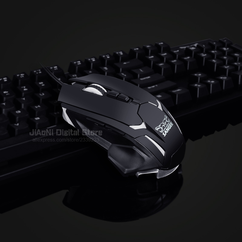 860e8a2a3e1 Sangee Optical Gaming Mouse Gamer Mause Deathadder 3500 DPI USB Wired 7D 8  Buttons CS GO Games Mice for Computer Laptop PC X7 on Aliexpress.com |  Alibaba ...