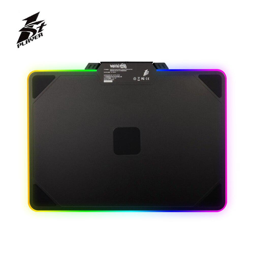 1 STPLAYER coloré RGB LED éclairage tapis de souris anti-dérapant ordinateur portable PC souris tapis pour souris Laser optique tapis de souris de jeu livraison gratuite
