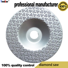 купить 60grid diamond blade saw flat head for glasses vacuum brazed at good price and fast delivery 100x16 по цене 1042.1 рублей