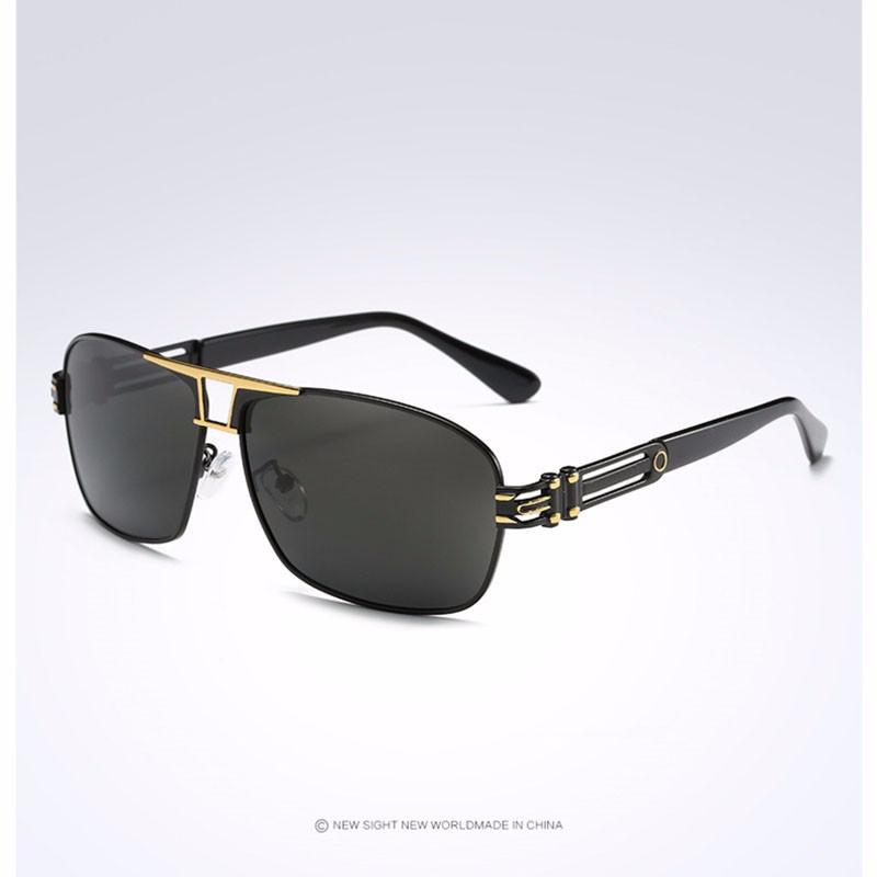 Roupai Polarized Super Cool Military Glasses For Police Driving Mens Square Anti Glare Sunglasses UV400 377 (7)