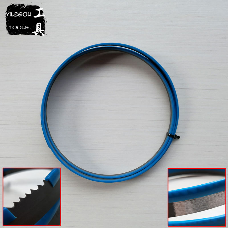 2630*19*0.9mm*3/4 Teeth M42 Bi-Metal Band Saw Blades Cutting Wood 2630mm Woodworking Saw Blade 19*0.9*2630mm*4/6 Teeth 6 60 teeth 140mm carbide saw blade for cutting polycarbonate plexiglass perspex acrylic professional 15 degree ab teeth