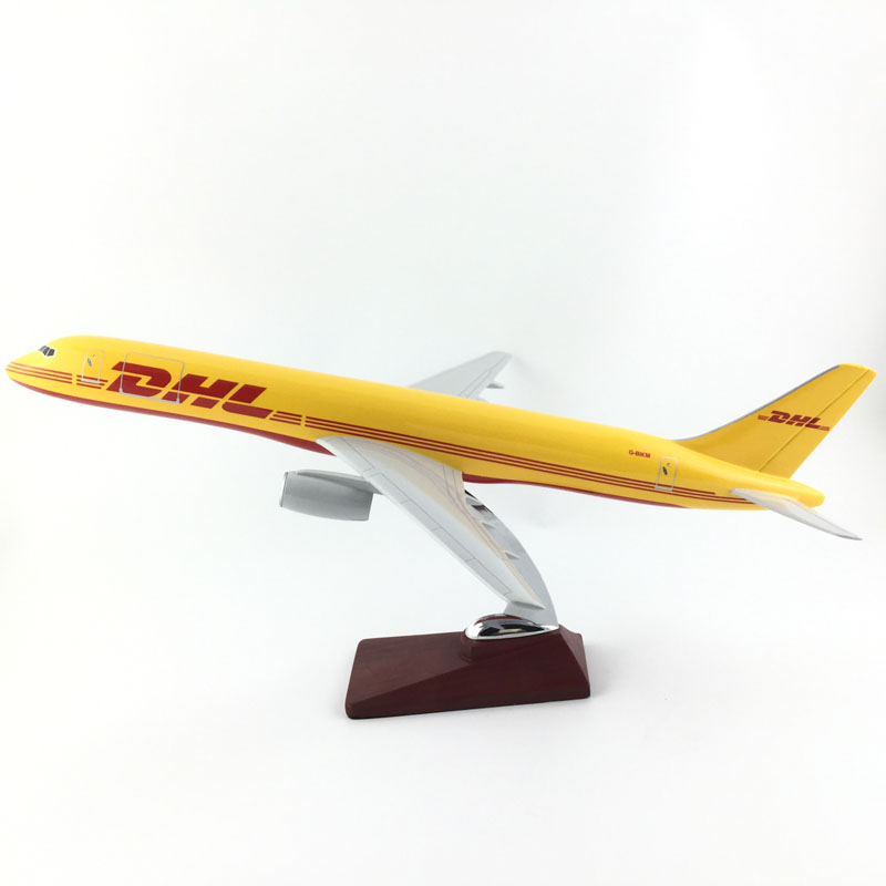 45-47CM  757 DHL AIR 1:150 METAL Alloy Aircraft Model Collection Model Plane Toys Gifts Free express EMS/DHL/Delivery45-47CM  757 DHL AIR 1:150 METAL Alloy Aircraft Model Collection Model Plane Toys Gifts Free express EMS/DHL/Delivery