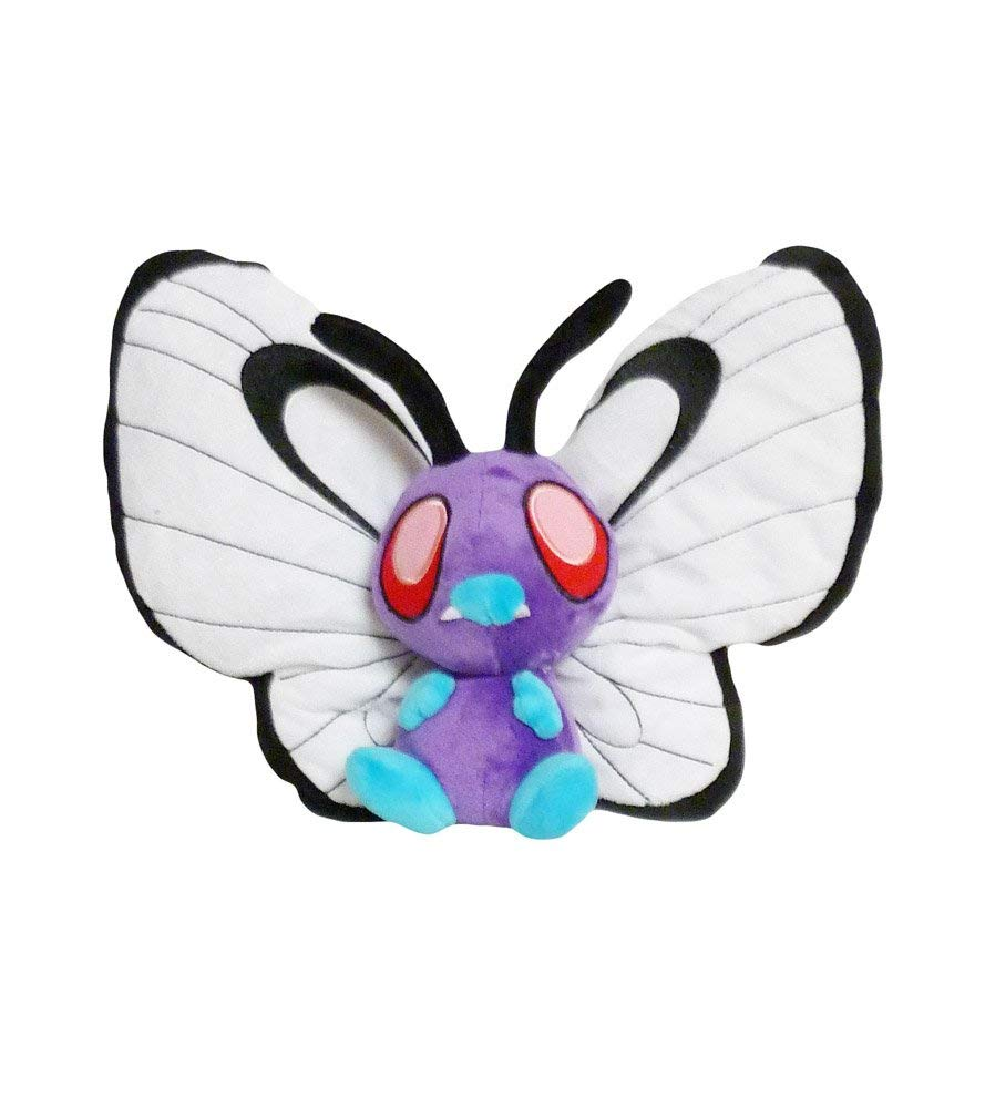 1 Pcs 20cm*25cm Nice Soft Evee Action Stuffed Figure Plush Doll Toys for Funs Gift 10-inch Butterfree Butterfly1 Pcs 20cm*25cm Nice Soft Evee Action Stuffed Figure Plush Doll Toys for Funs Gift 10-inch Butterfree Butterfly