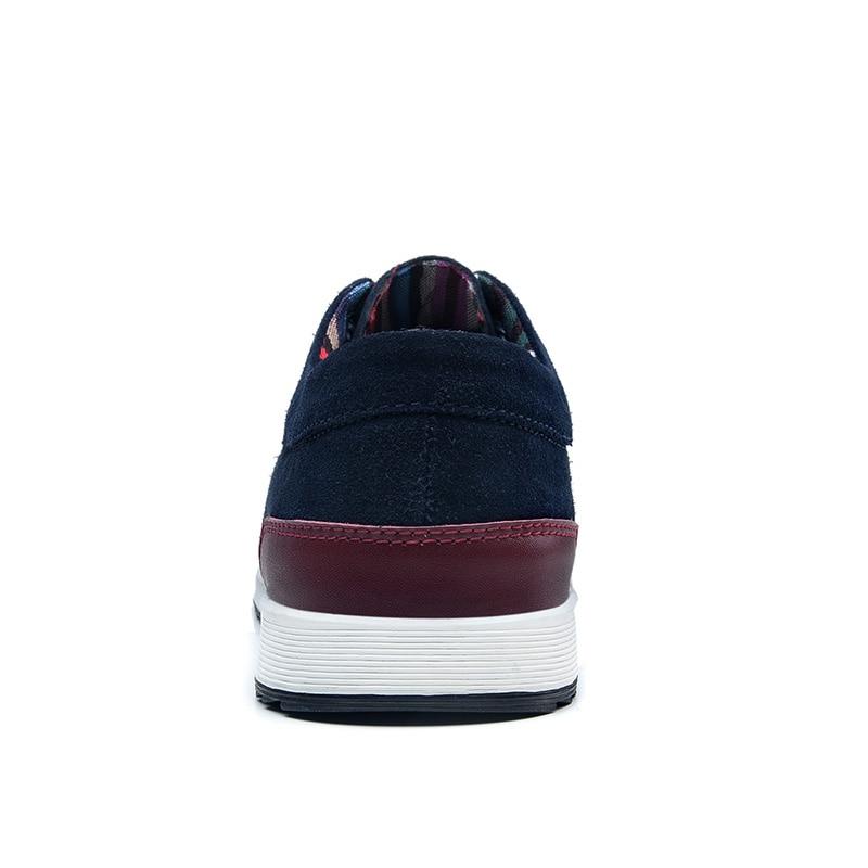 SUROM 남성용 가죽 캐주얼 슈즈 브랜드 가을 겨울 - 남성용 신발 - 사진 4