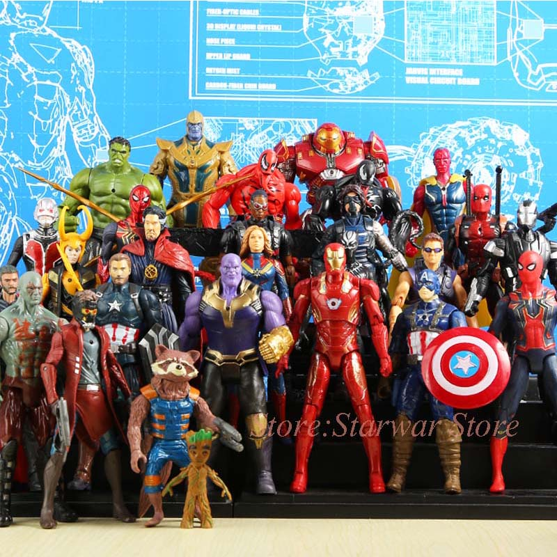 font-b-avengers-b-font-4-endgame-super-heroes-figures-toys-venom-deadpool-captain-america-hulk-thanos-spiderman-thor-vision-winter-soldier