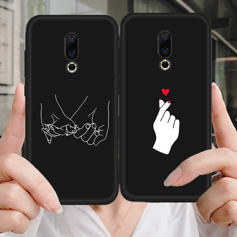 Patterned Soft TPU Cover Case For Meizu 16X Case 16 16th M6 M5 Note M6S M5C Lover Heart Nature Cartoon Phone Cases Fundas Armor
