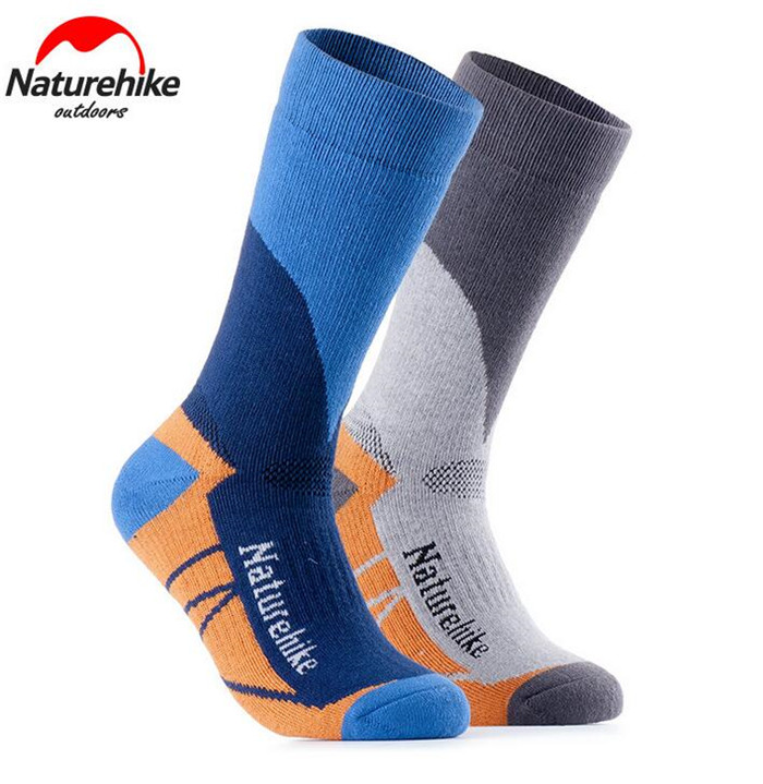 Naturehike Women Men Winter Outdoor Sports Stockings Socks Coolmax Breathable Quick Dry Hiking Skiing Snow Socks Peak Hiking