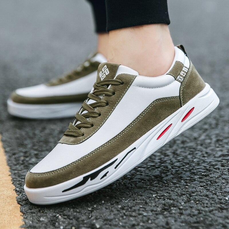 4c7d13505412a7 Casual Adulte Non Homme Sneakers 2019 De Populaire Chaussures Printemps  khaki slip Hommes Respirant gray Paniers Confortable ...