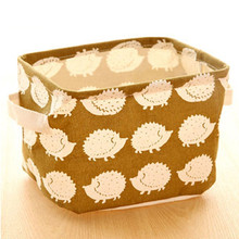 Multi Cute Design Home Folding Storage Box For Jewelry Cosmetic Makeup  Clothing Toy Box Clothes Hamper