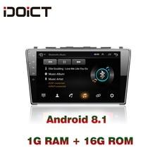 IDOICT Android 8.1 Car DVD Player GPS Navigation Multimedia For Honda CRV Radio 2008 2009 2010 2011 car stereo цена в Москве и Питере