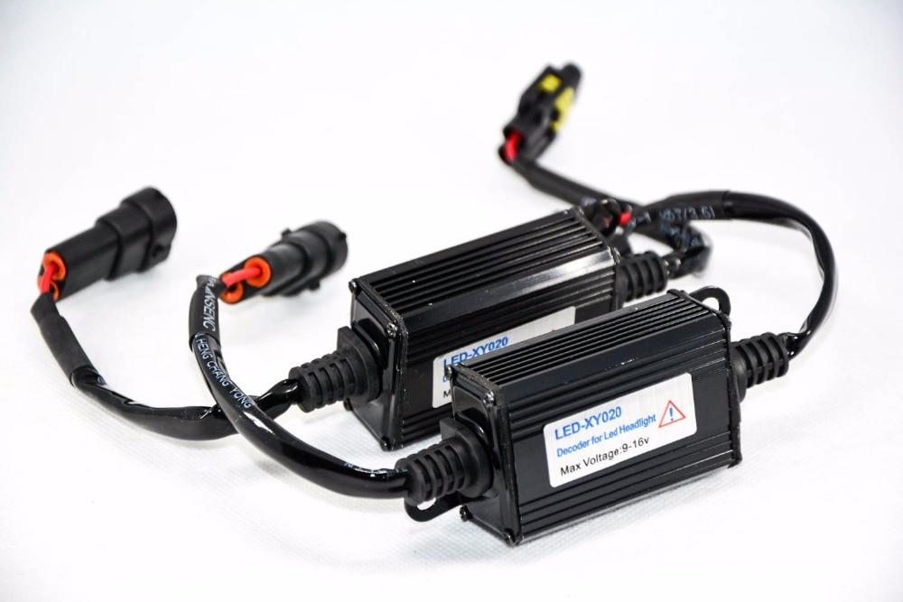 1 par H11 Automatski LED dioda za pretvorbu prednjih svjetala - Svjetla automobila - Foto 2