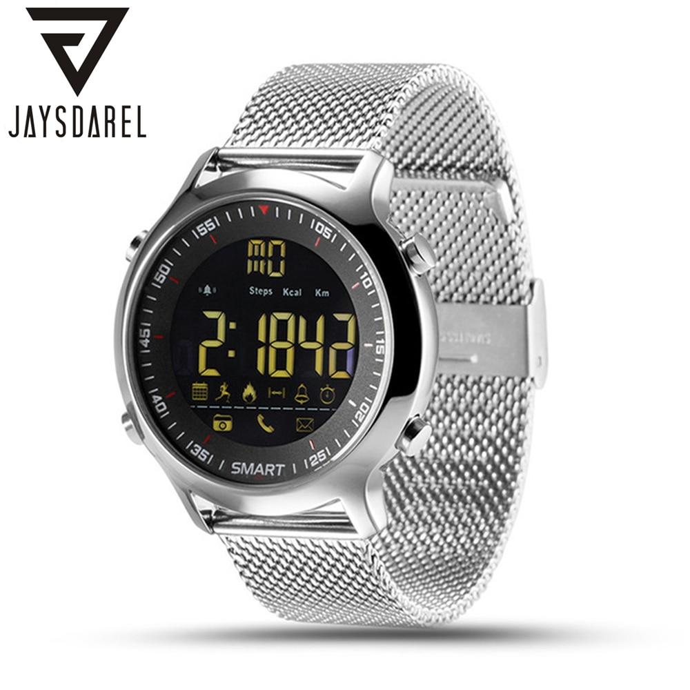 JAYSDAREL EX18 Smart Watch Multifunctional Sport Activities Tracker Waterproof Support Call And SMS Alert Smart Wristwatch
