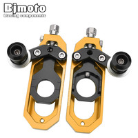 For Yamaha YZF R6 2008 2015 Motorcycle motocross motorbike CNC Aluminum Chain Adjusters Tensioners Catena Spools