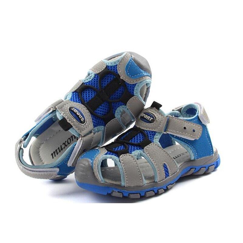 New Style 2018 Children Sandal Boys Summer Comfortable Kid Sandals Breathable Children Shoes Cool Boys Sandalen