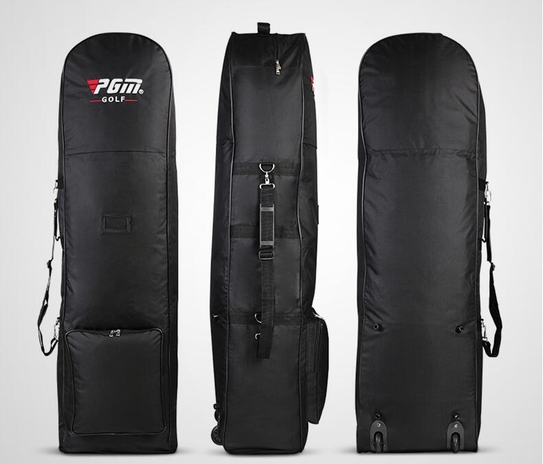 Hot !PGM Golf Bag Foldable Airplane Travelling Bag with Pulley Single-Layer Consignment Golf Aviation Bag 27*38CM,Free shipping hot pgm golf clothing men polo shirt high quality male long korean spring autumn tshirt tennis golf shirts free shipping