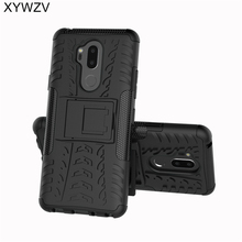Sfor Coque Lg G7 Case Shockproof Hard Pc Siliconen Telefoon Geval Voor Lg G7 Thinq G710 Cover Voor Lg G7 G 7 Phone Bag Shell 6.1 Inch