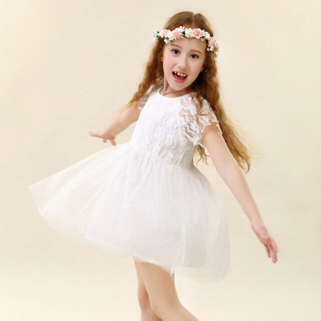 5pcs/lot 2015 Shabby Chic Dresses For Girls Robe Enfant Mariage ...