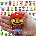 Mario spongebob mickey 3d bricks loz diamante building blocks toy todos os 94 modelos
