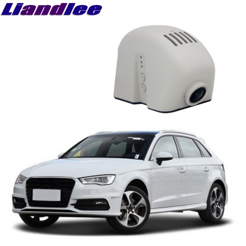 Liandlee For Audi A3 S3 RS3 8P MK2 2003~2012 Car Black Box WiFi DVR Dash Camera Driving Video Recorder