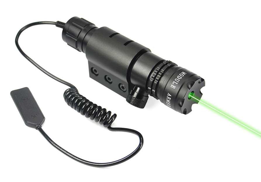 532nm Green Laser Dot Sight Tactical Red dot laser Air Soft Rifle Weapon Scope Hunting Airsoft Night Vision Gun Riflescope Optic