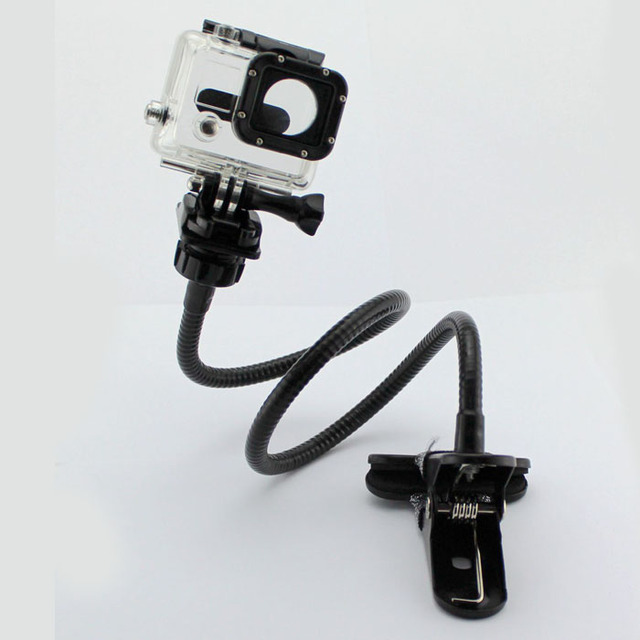 75cm Snake Shape Long Bendable Tube Action Camera Strong Stand Holder For GOPRO HERO 4/3+ 3 2 1 Hero4 Session SJCAM Xiaomi Yi