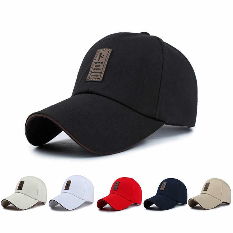الرجال Snapback قبعات الصيف قابل للتعديل قبعات البيسبول للرجال جديد القطن قبعات رياضية غير رسمية النساء موضة بوي قبعة قبعات