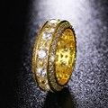 HY Классический Полный Проложили Обручальное кольцо Дизайн родием Кольцо для Женщин Обручальное Кольцо Bague Femme