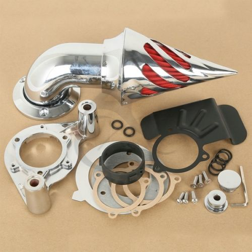 Spike Air Cleaner Kit Intake Filter For Harley Touring Models 2008 2012 2011 09