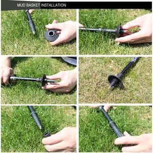 Image 5 - Легкая палка из углеродного волокна для трекинга, регулируемая телескопическая палка для ходьбы, 3 секции для кемпинга и пешего туризма