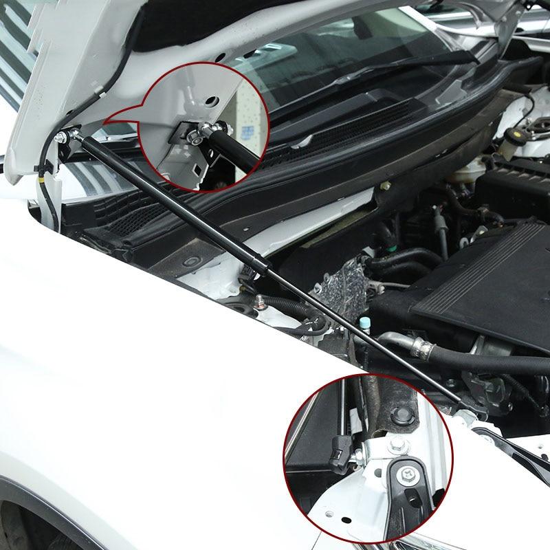 Pour 2013 2014 2015 2017 2018 Mitsubishi Outlander capot avant moteur supportant tige hydraulique jambe de force ressort barres de choc support - 2