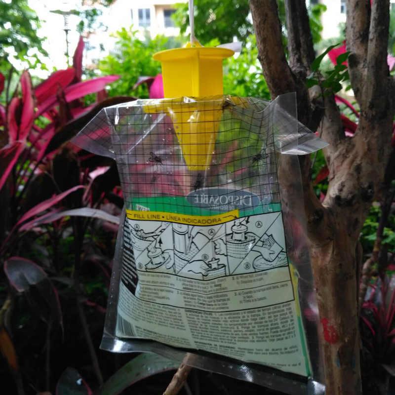 1 pcs Saco Coletor ideal para Casa, Jardim, Ao Ar Livre, Descartável, o Controlo, a Armadilha, Inseticida, moscas, Flytrap Roach Killer Ratoeira