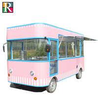 Carrito de comida móvil eléctrico carrito de comida móvil carrito de comida de calle