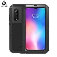 Love Mei Brand Case For Xiaomi Mi 9 Mi 8 Armor Shockproof Phone Case For Xiaomi Mi 9 Mi9 Mi8 M8 Metal Full Body Anti Fall Cover