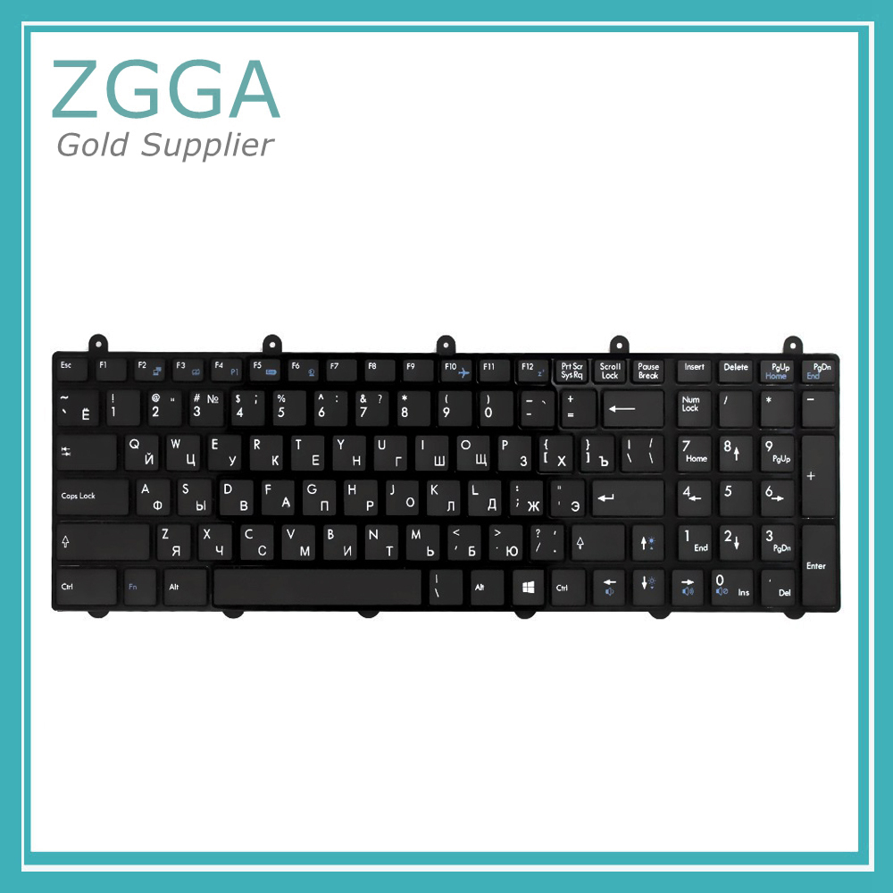Laptop RU keyboard For MSI GE60 GE70 GX60 GX70 GT60 GT70 GT780 GT783 MS-1762 Clevo P150EM P170EM P370EM P570WM Keyset Internal laptop top cover for msi ge60 ms 16gc ms 16ga black new original