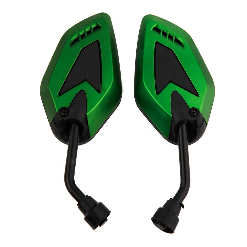 Hot Sale 1 Pair 4 color optional 180 degree Adjustable ABS plastic metal Motorcycle Rearview Mirror