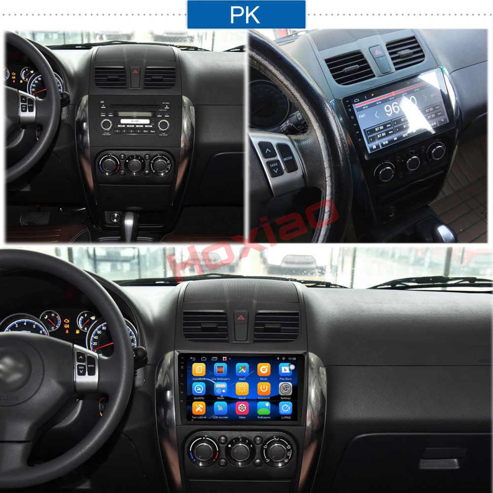 """スズキsx4 2006-2013クアッドコア9 """"1024*600 bluetooth 2dinカーdvdラジオプレーヤーgpsナビゲーション2ディンandroidプレーヤー"""