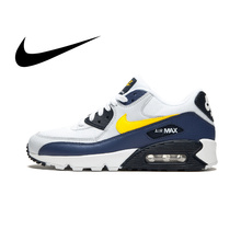 Original authentic NIKE AIR MAX 90 ESSENTIAL mens running shoes fashion classic outdoor sports breathable AJ1285-101