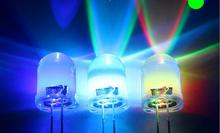 10MM RGB 7 colour light  light-emitting diode LED free shipping