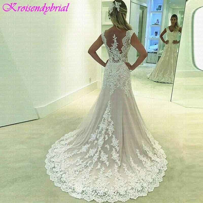 Cheap Elegant Wedding Dresses: QFS069 Vestidos De Noiva Beautiful Custom Made Wedding