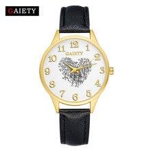 Fashion Women Watch Luxury Leather Band Analog Quartz Round Wrist Watch Watches relogio feminino Bracelet Free Shipping#40