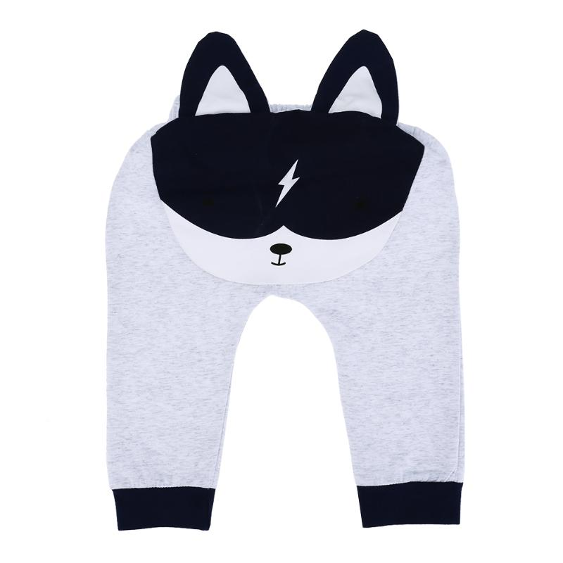2017 Autumn Baby Harem Pants Fashion Children Sports Loose Trousers Boy Girl Animal Bottom PP Pants Joggers Cute Infant Clothing