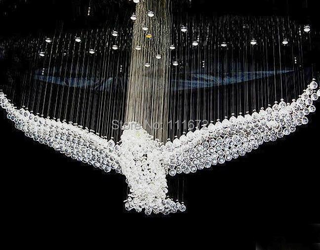 buy new bird design crystal chandelier. Black Bedroom Furniture Sets. Home Design Ideas