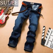 SULEE Marke 2016 neue ankunft männer jeans männlichen casual hosen baumwolle slim fit herbst winter kostenloser versand