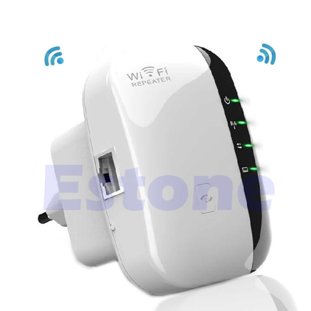 Wireless-N AP 300Mbps Range 802.11 EU Plug Network Wi Fi Routers 300Mbps Range Expander Signal Booster Extender ...