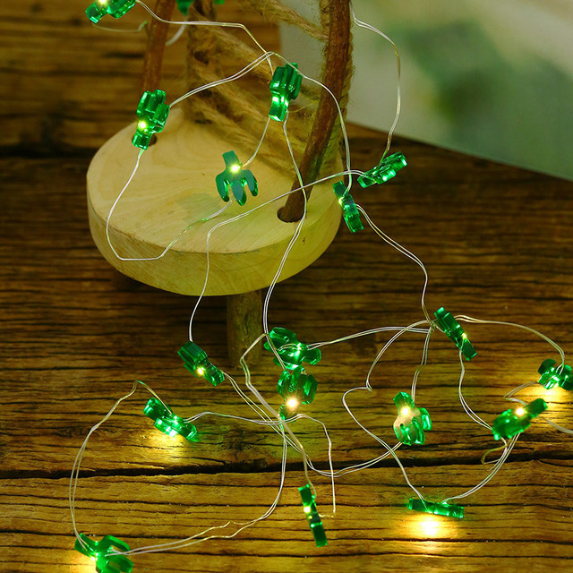 green cactus shape string lights 3 meters 30 led copper wire decorative lamp room outdoor lighting